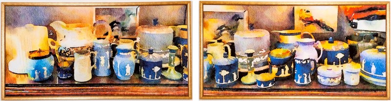 Wedgwood Collection Diptych